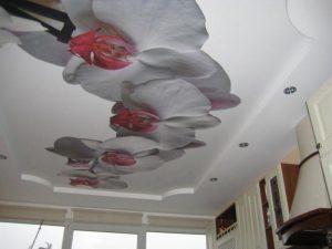 Как мыть натяжной потолок матовый