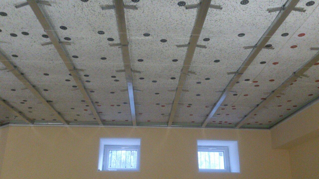 Звукоизоляция потолка в квартире под натяжной потолок
