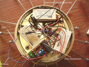 Люстра с дистанционным управлением: основные компоненты