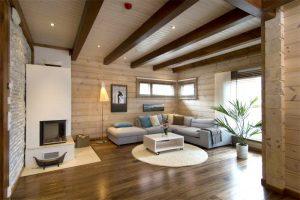 Чем подшить потолок по деревянным балкам