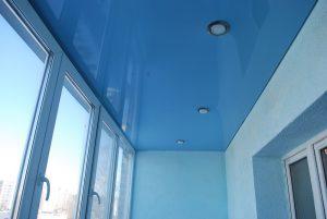 Потолок на балконе - из чего сделать?