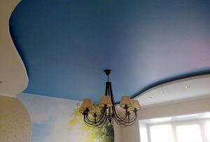 Сатиновый натяжной потолок – плюсы и минусы