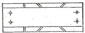 Бумажный шаблон стусла
