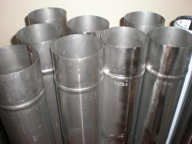 Однослойная труба для бани