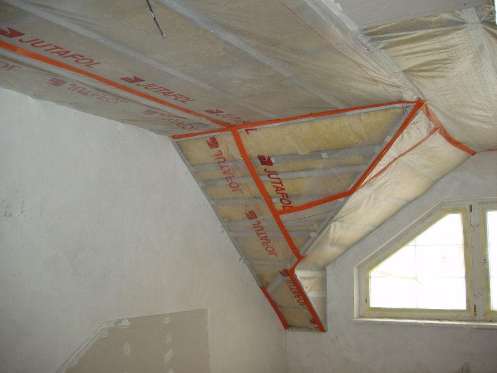 Пароизоляция потолка - фото