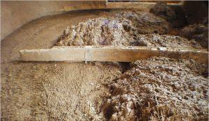 Утепление глиной и соломой