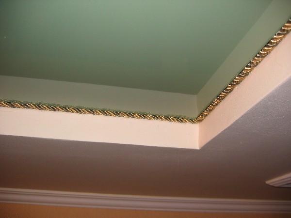 Декоративный шнурок для тканевого натяжного потолка