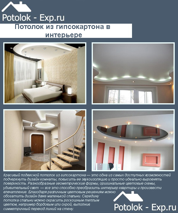 Натяжной или гипсокартонный потолок