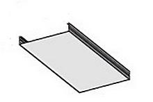 3 – Потолочная рейка, основной декоративный элемент системы.