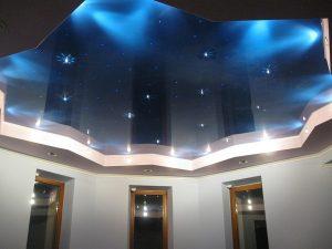 Натяжной потолок не используется при экстремальных температурах
