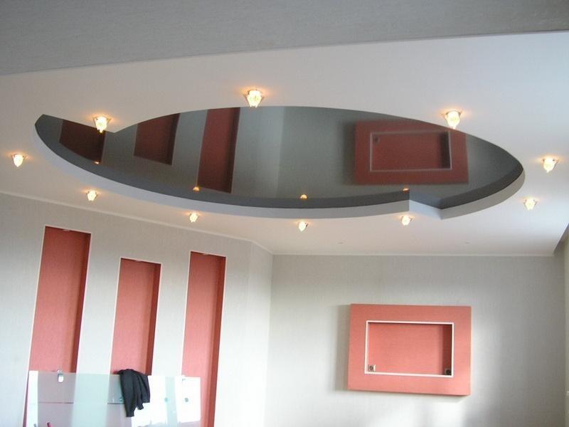 Двухъярусные натяжные потолки