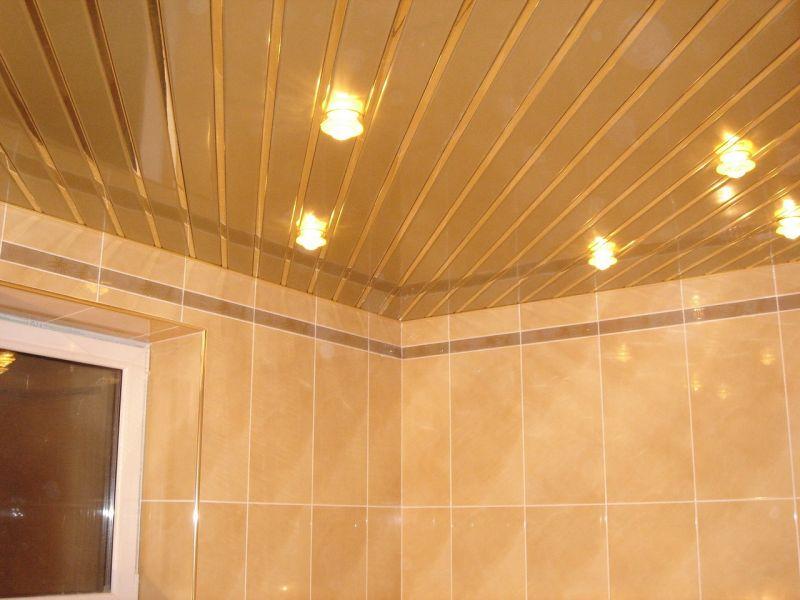 Навесной потолок в ванной комнате: пошаговая инструкция