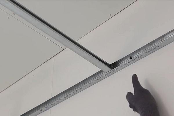 Стартовый каркас для подвесного потолка