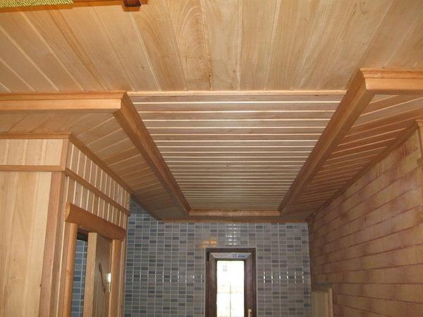 Обрешетка для вагонки на потолок