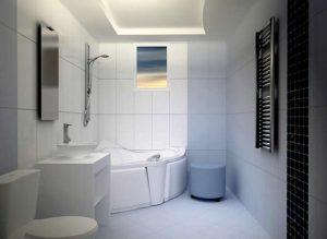 Использование гипсокартона в ваннной нерационально
