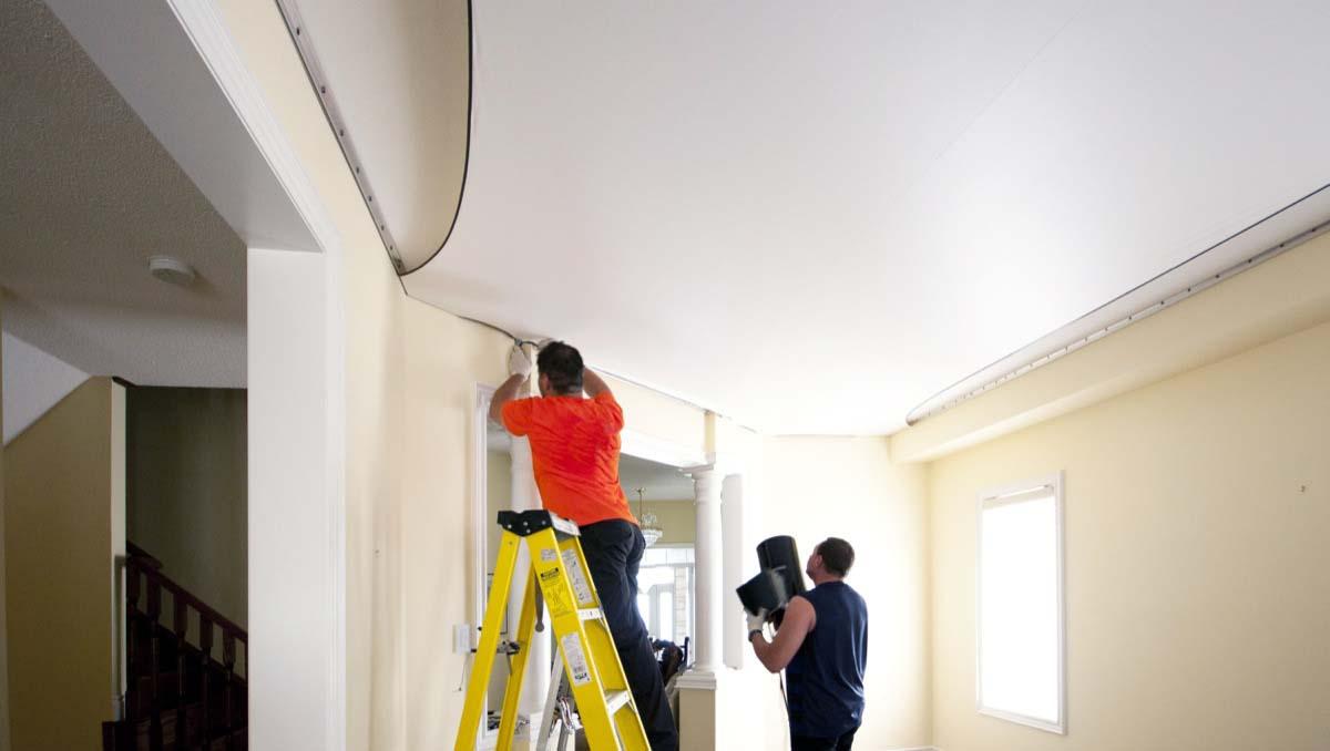 Укрепление материала вдоль стен