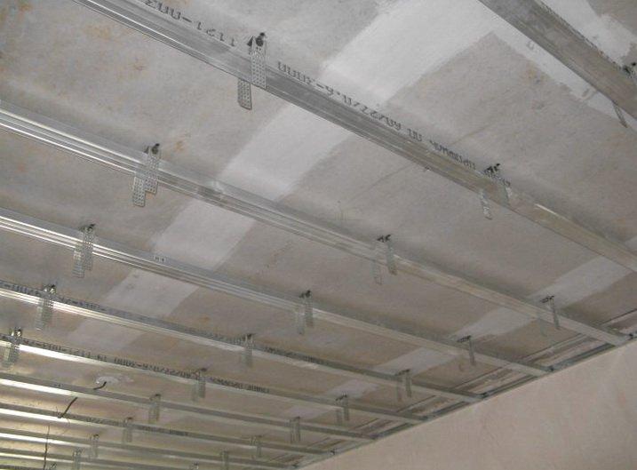 Поперечный каркас для подвесного потолка