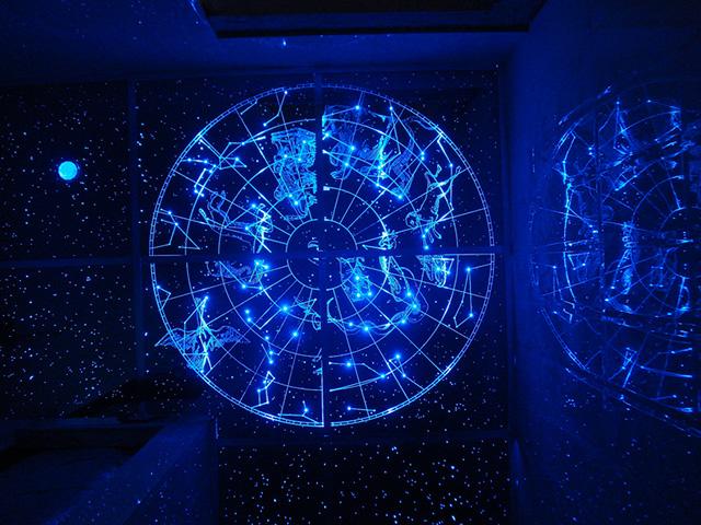 """Восхитительное """"Звездное небо"""" со знаками зодиака"""