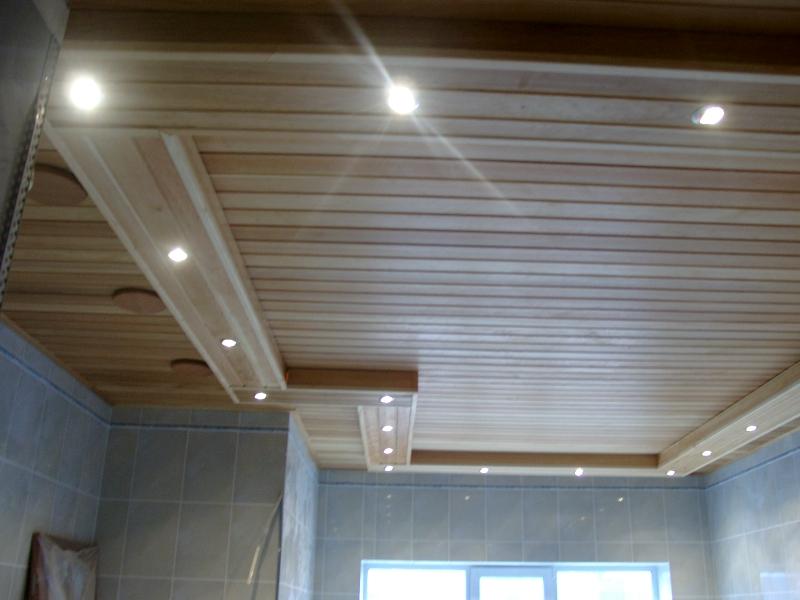 Пример подшивного потолка