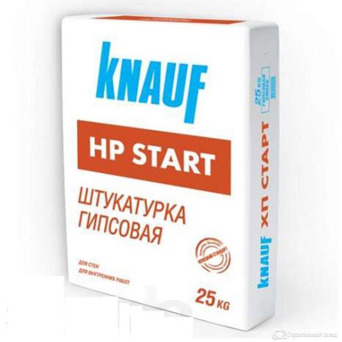 Штукатурка Кнауф ХП-Старт гипсовая (Knauf HP-Start), 25кг