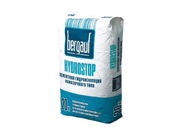 Цементно-полимерная гидроизоляция Bergauf Hydrostop
