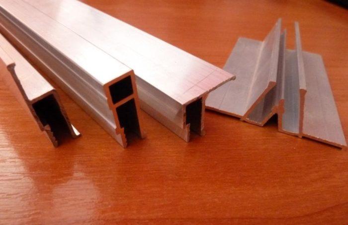 Алюминиевый профиль для натяжного потолка