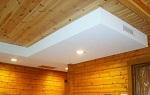 Чем обшить потолок в деревянном доме внутри?