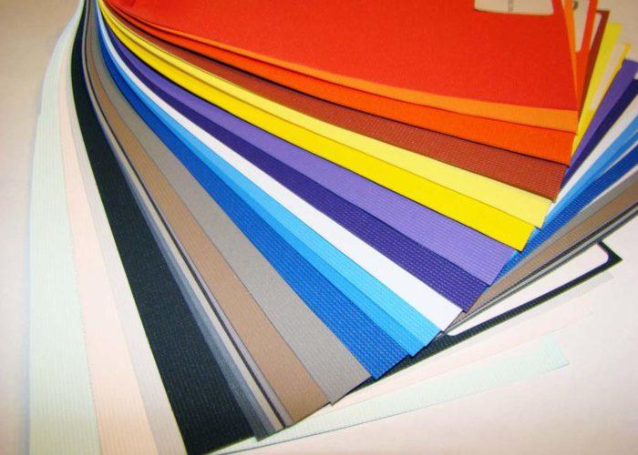 Палитра цветов тканевых натяжных потолков