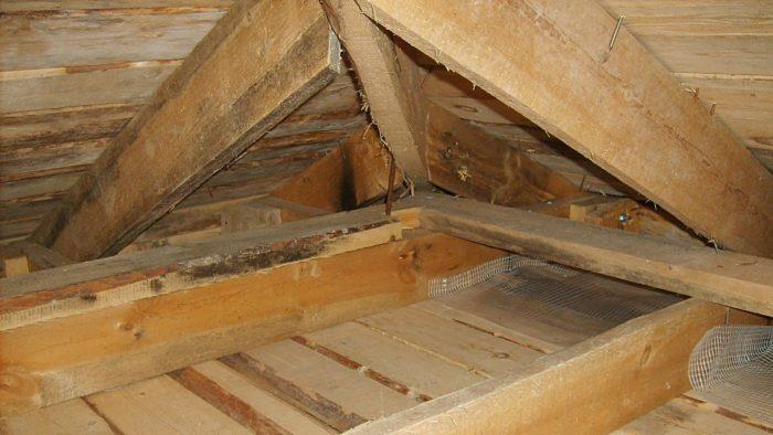 Доски подшиты под брус