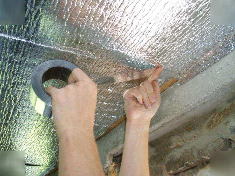 Как сделать гидроизоляцию потолка 806