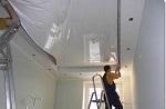 Как делают натяжные потолки?