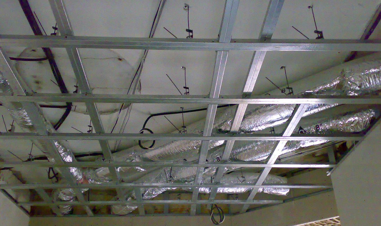 Каркас для кассетного потолка