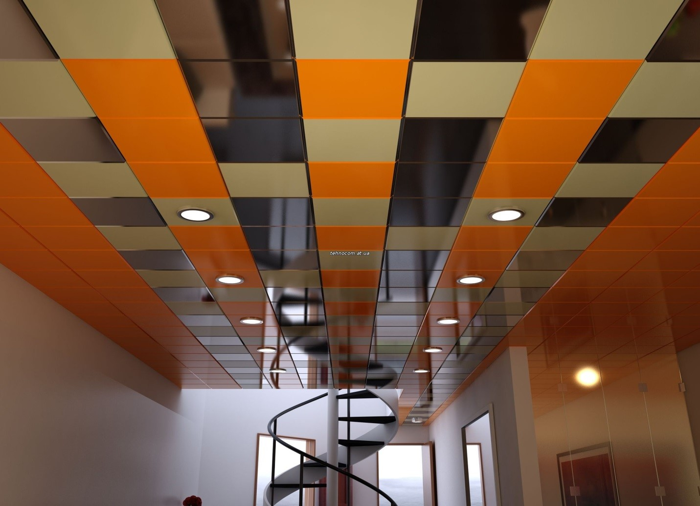 Кассетные подвесные потолки