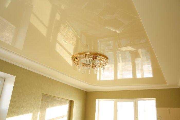 Красивые и практичные натяжные потолки - правильный выбор современного человека
