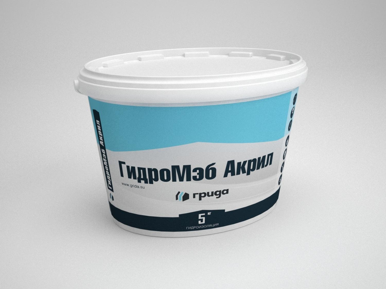 Латексная мастика ГидроМЭБ Акрил