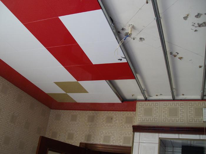 Монтаж кассетных потолков