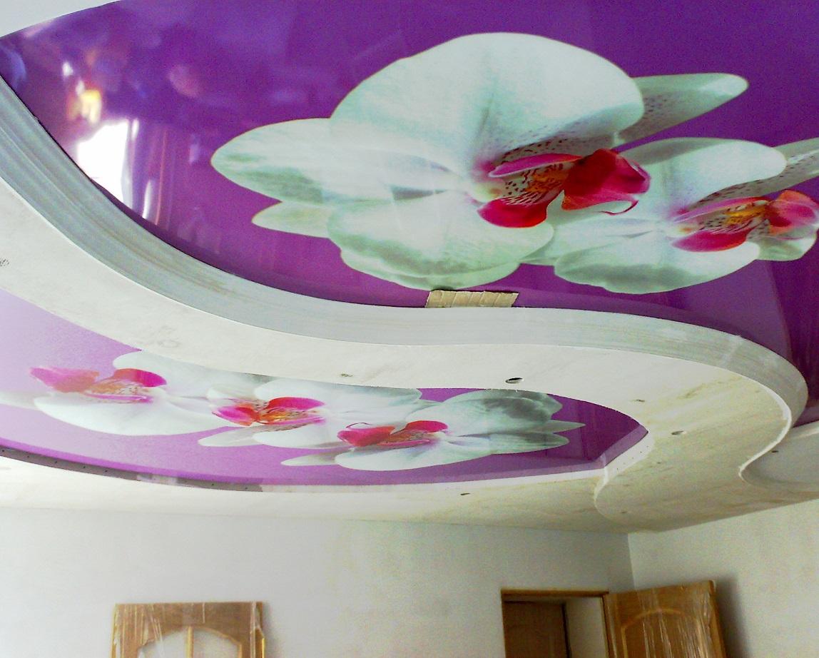 Натяжные потолки с 3D эффектом