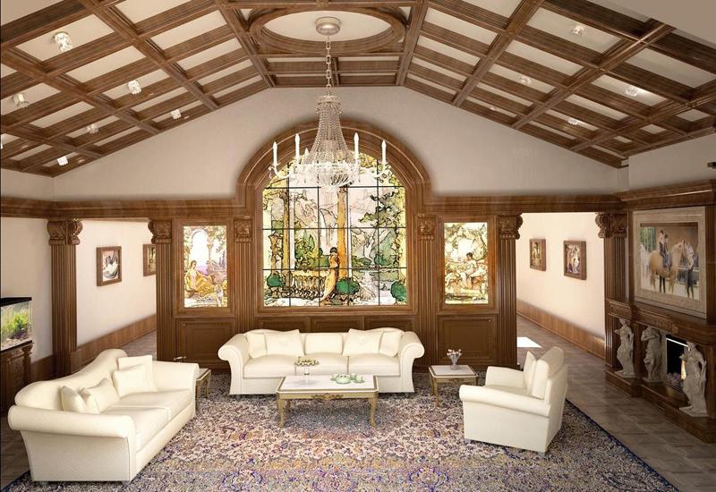 В частном доме допустимы любые размеры, планировка и высота потолка