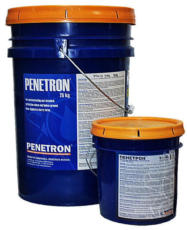 Пенетрон. Проникающая гидроизоляция