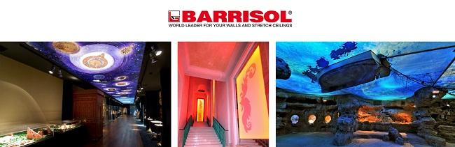 Первыми натяжные потолки начала производить фирма Normalu Франция в 1969 году. Позже был создан Бренд Barrisol в 1975 году.