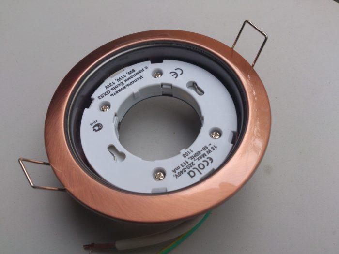 Светильники GX53 для натяжных потолков