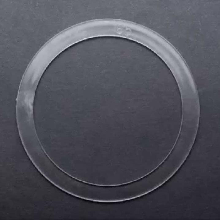 Термокольцо прозрачное для GX53 H4