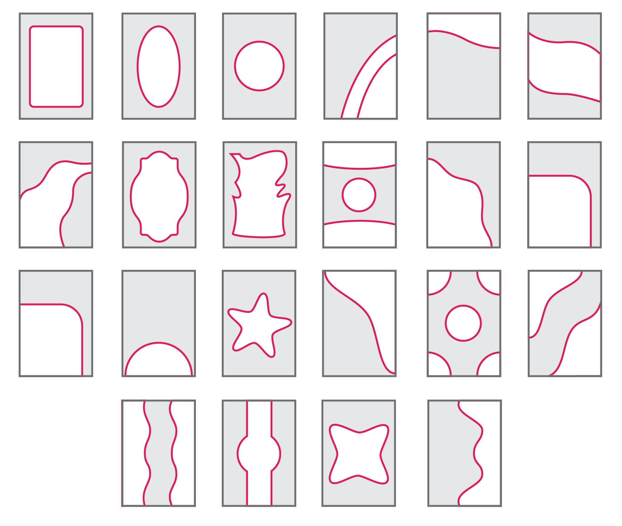 Вариантов конфигураций двухуровневых потолков очень много. Здесь мы представили вашему вниманию лишь часть из них