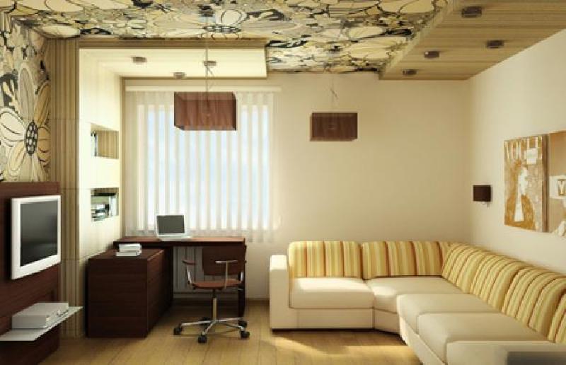 Виниловые обои в отделке стен и потолка