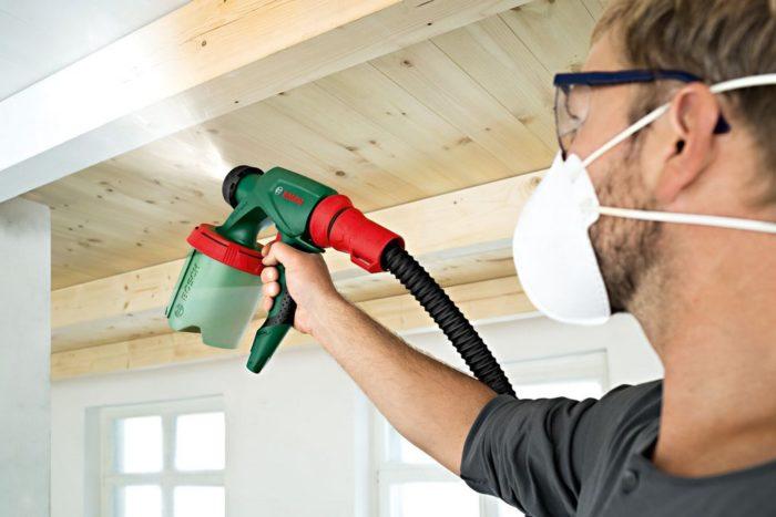 Краскопульты для покраски стен и потолка