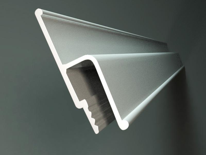 Пластиковый h-образный профиль