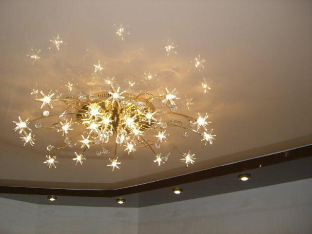 При большом количестве рожков рекомендуется использовать светодиодные лампы