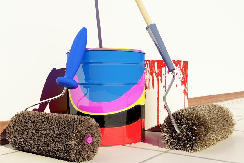 Для покраски потолка водоэмульсионной краской больше подходят валики с длинным ворсом