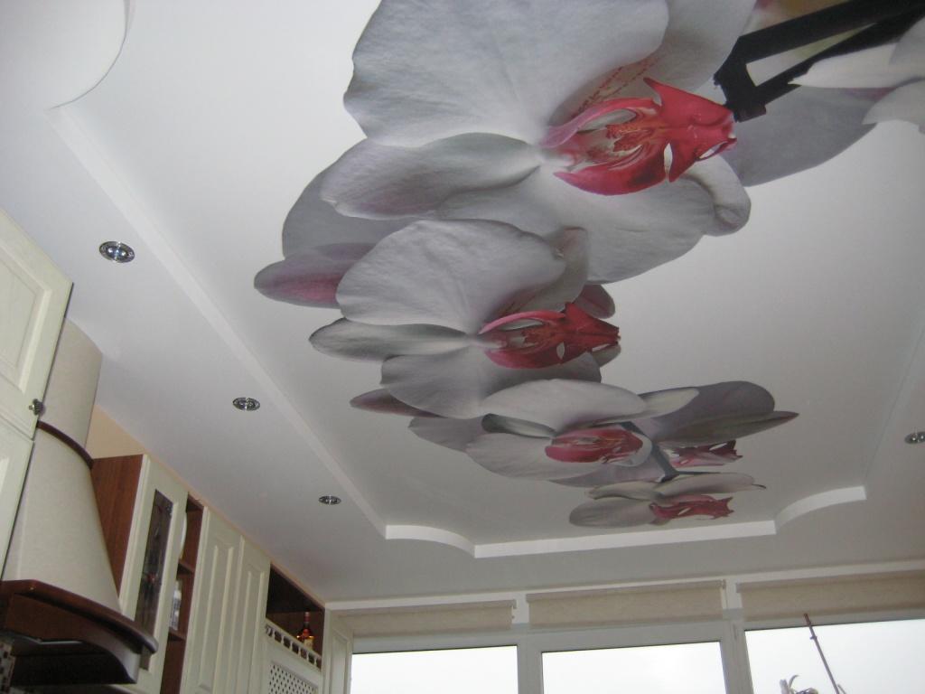 3D-декор натяжного потолка