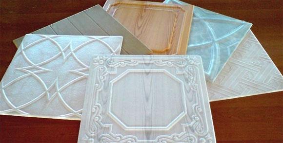 Плиты потолочные из полистирола